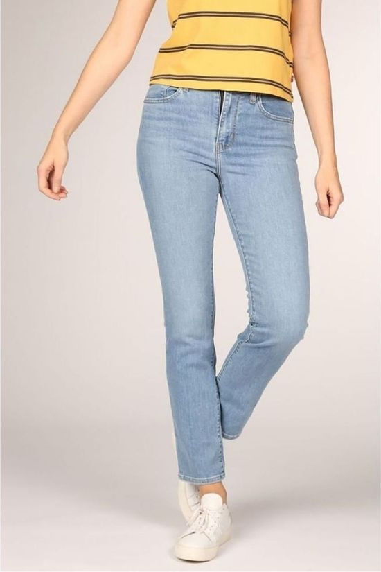 Levi's Jeans 724 High Rise Straight Light Blue (Jeans)