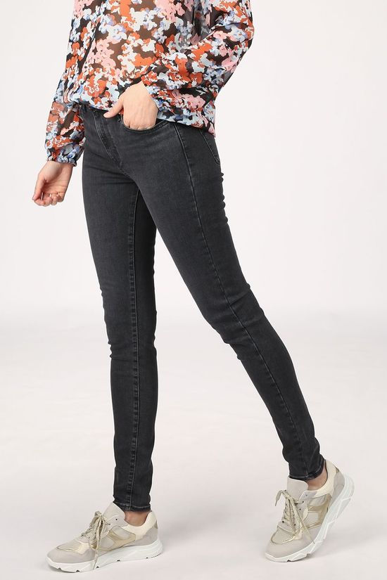 Levi's Jeans 720  High Rise Super Skinny Zwart/Denim / Jeans