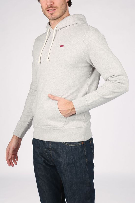 Levi's Pullover New Original Hd Light Grey Marle