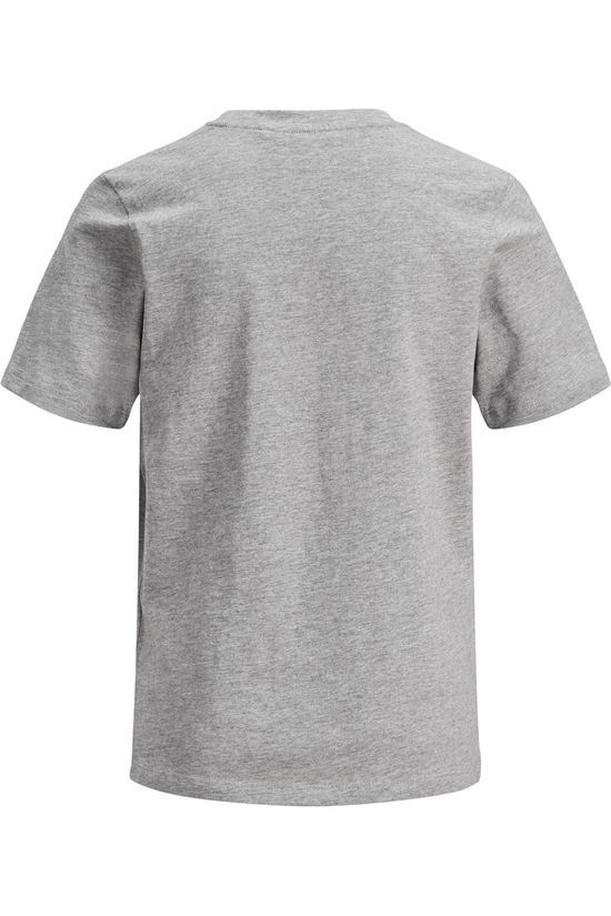 Jack & Jones T-Shirt Jjecorp Logo Ss Light Grey Marle