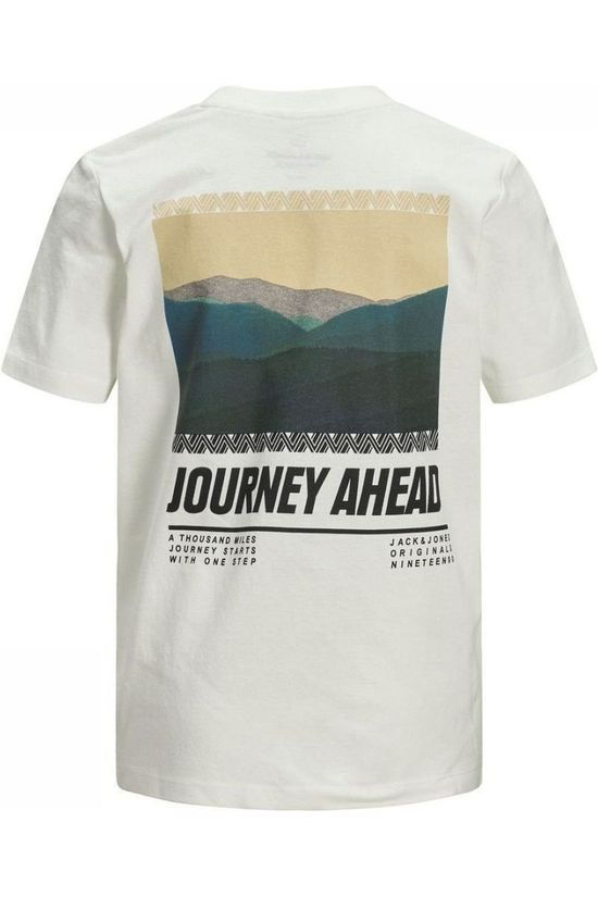 Jack & Jones T-Shirt Jorsuns Ss Jr WHITE