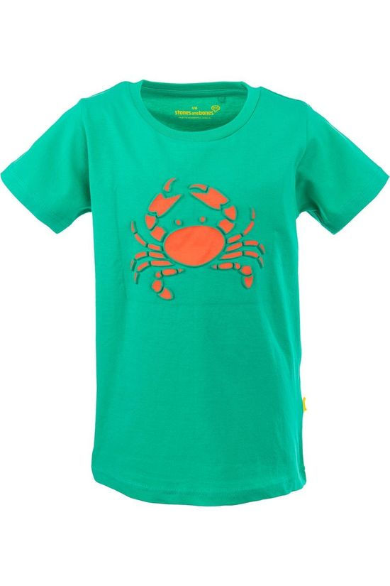 Stones and Bones T-Shirt Russell - Crab light blue