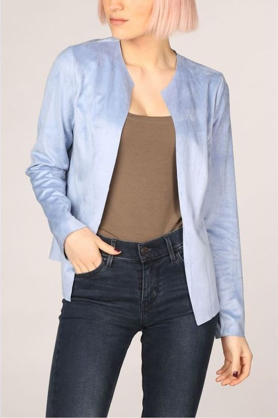 Vila Joy Blazer Poland-L-60-B light blue