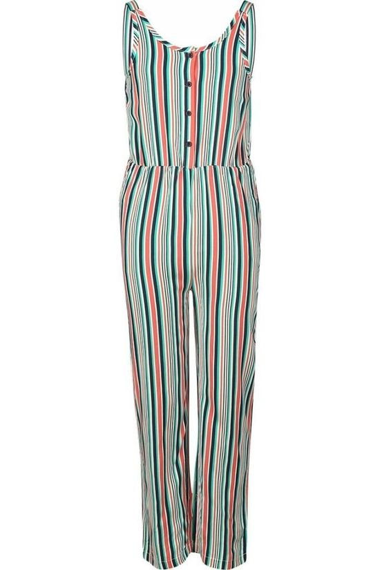 Awesome Jumpsuit Suit-G-64-A Blanc Cassé/Ass. Arc en ciel