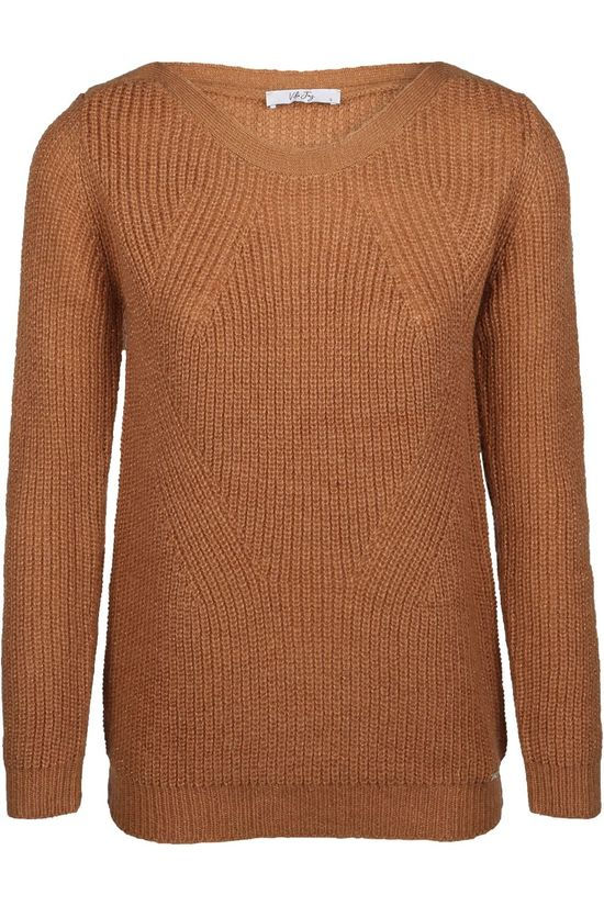 Vila Joy Pullover Beans-L-12-C brown