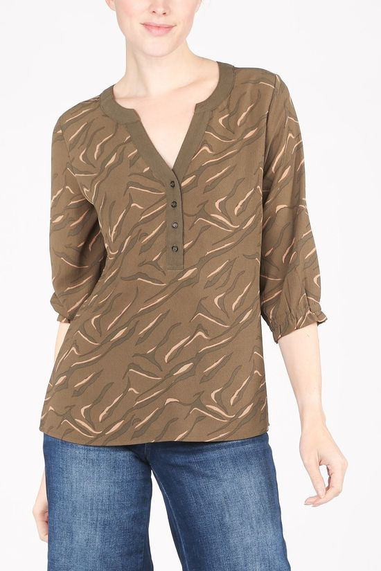 Vila Joy Shirt Anise-L-23-A dark khaki