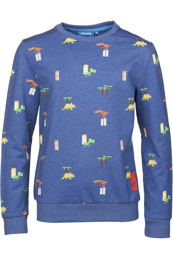 Someone Pullover Dinos-Sb-16-F Dark Blue/Assorted / Mixed
