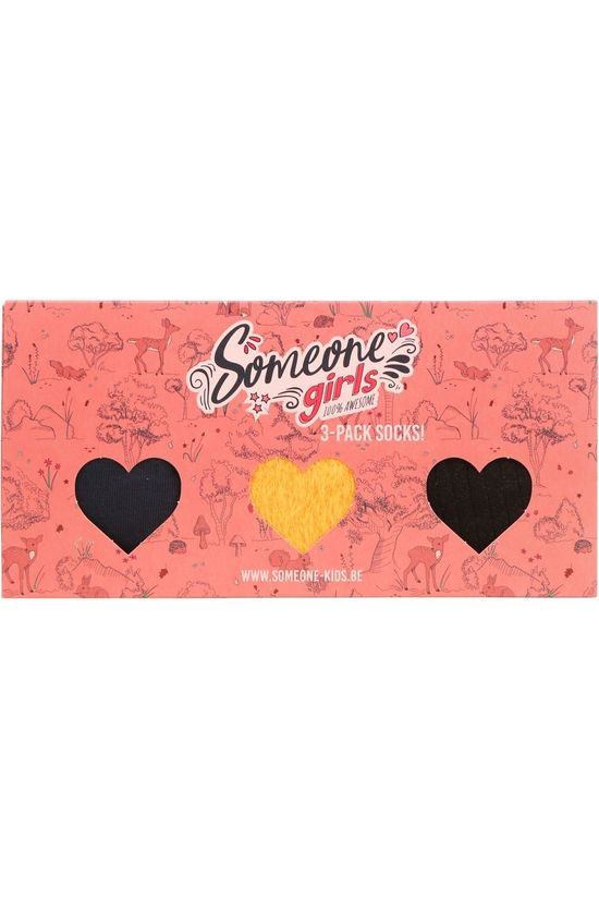 Someone 3 Pack Socks Girls Assorted / Mixed