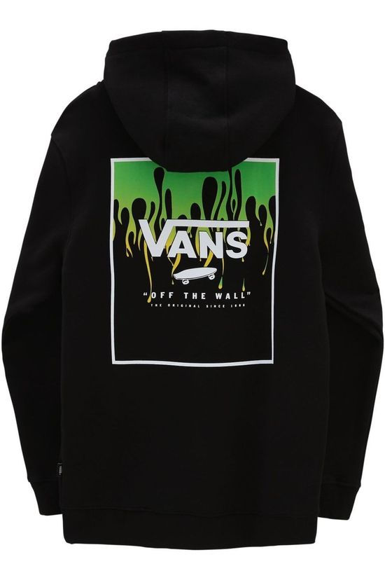 Vans PULLOVER VANS BY PRINT BOX BACK PO BOYS black