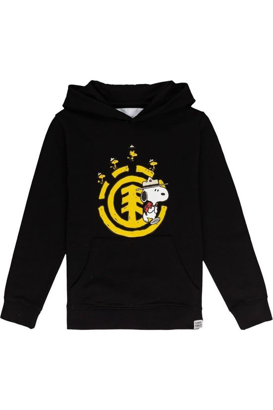 Element Pullover Peanuts Emerge Hood Boy black