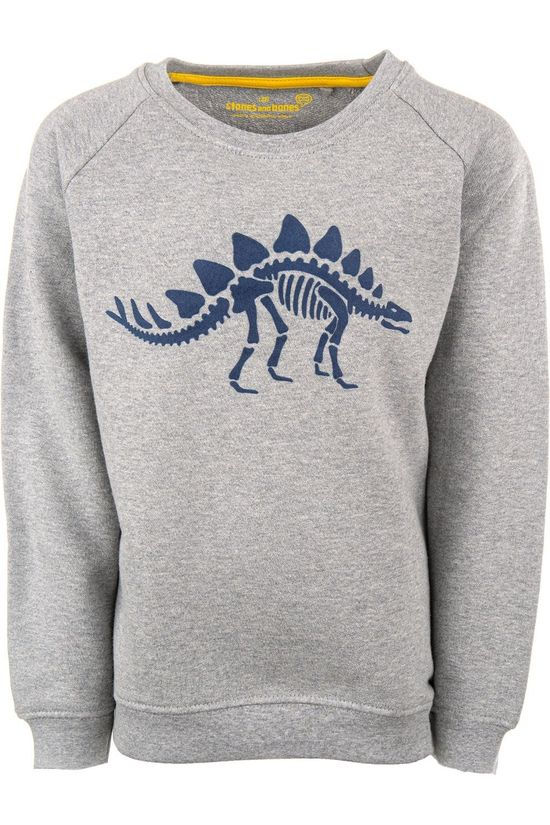 Stones and Bones Pullover Imagine - Dino Light Grey Marle