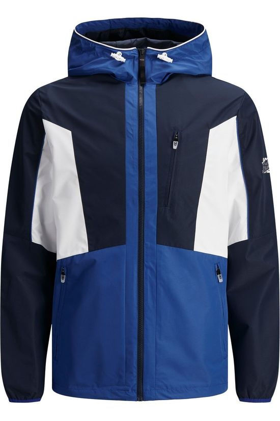 Jack & Jones Coat Jcocarson Light Jacket Hood Jr dark blue/white