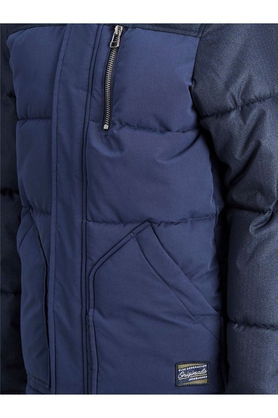 Jack & Jones Coat orheat Puffer Jacket Jr dark blue