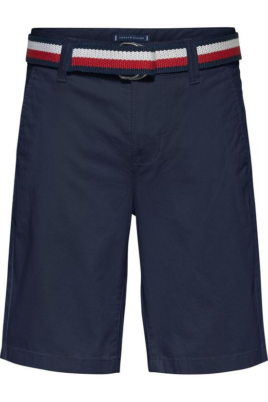 Tommy Hilfiger Short Essential Belted Chino Bleu Foncé
