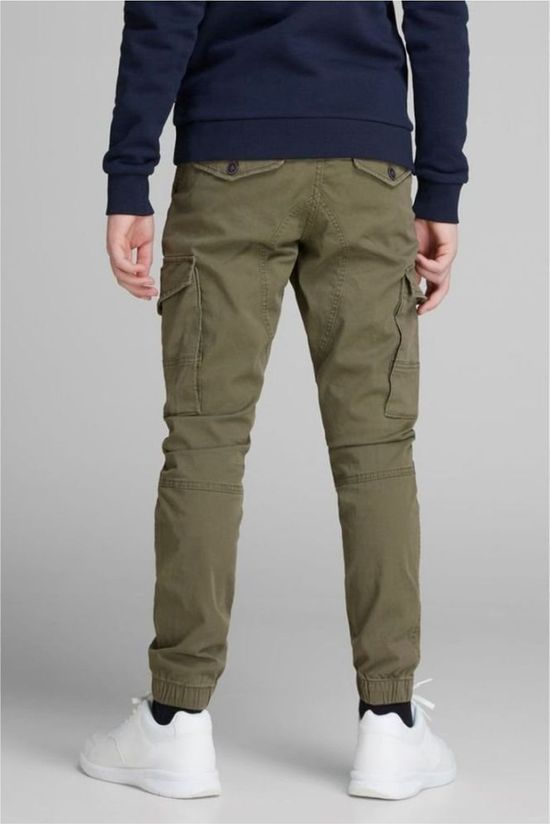 Jack & Jones Broek JJ Paul Green Middenkaki