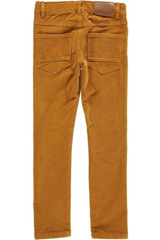 Name It Pantalon mrobin Cordbarco Pant Noos Marron Chameau