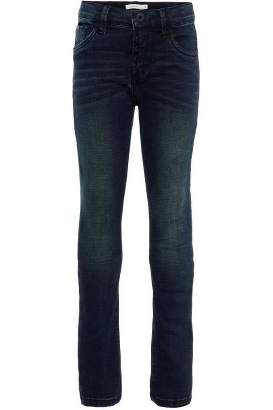 Name It Jeans msillas Toppe Denim / Jeans/Zwart
