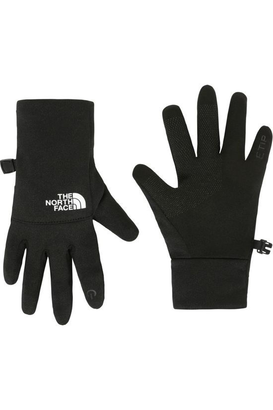 The North Face Handschoen Recycled Etip Zwart