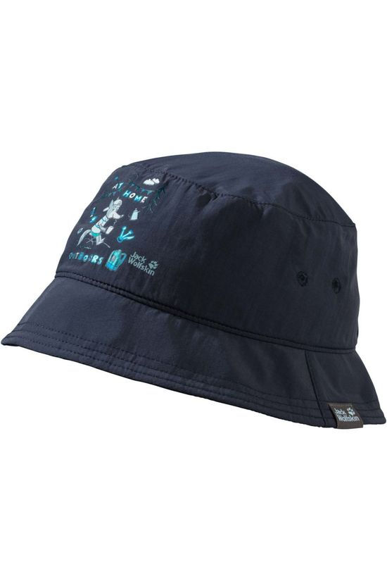 Jack Wolfskin Headwear Supplex At Home Bucket Kids dark blue