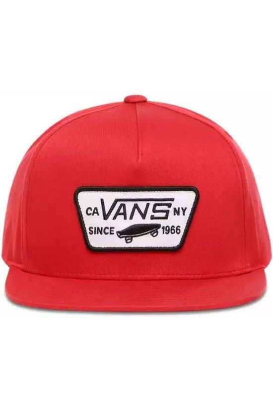 Vans Pet By Full Patch Snapback Rood