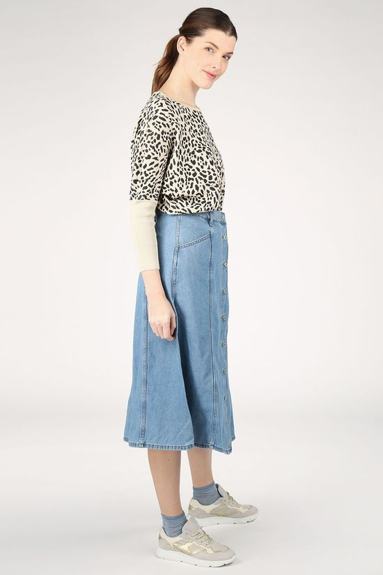 B.Young Skirt Bylyra Light Blue (Jeans)