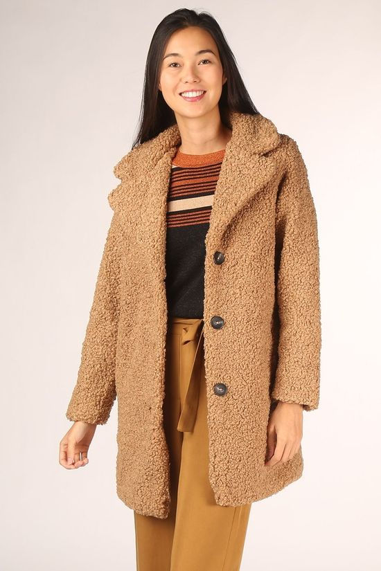 Numph Coat liliosa Sand Brown