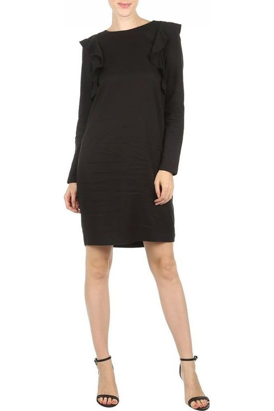 Ichi Dress Eucalyptus Dr black