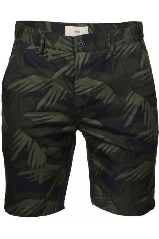 Minimum Shorts Frede Dark Khaki/Ass. Flower