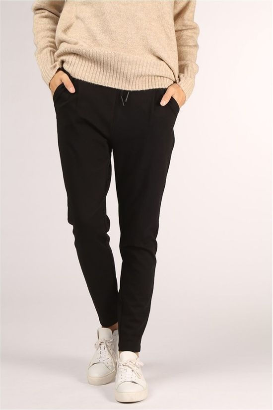 Vero Moda Trousers Eva Mr Loose Strings black