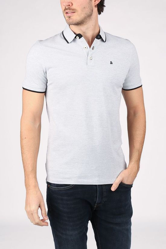 Jack & Jones Polo Paulos Light Grey Marle