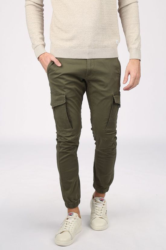 Jack & Jones Trousers Jjflake Akm 542 mid khaki