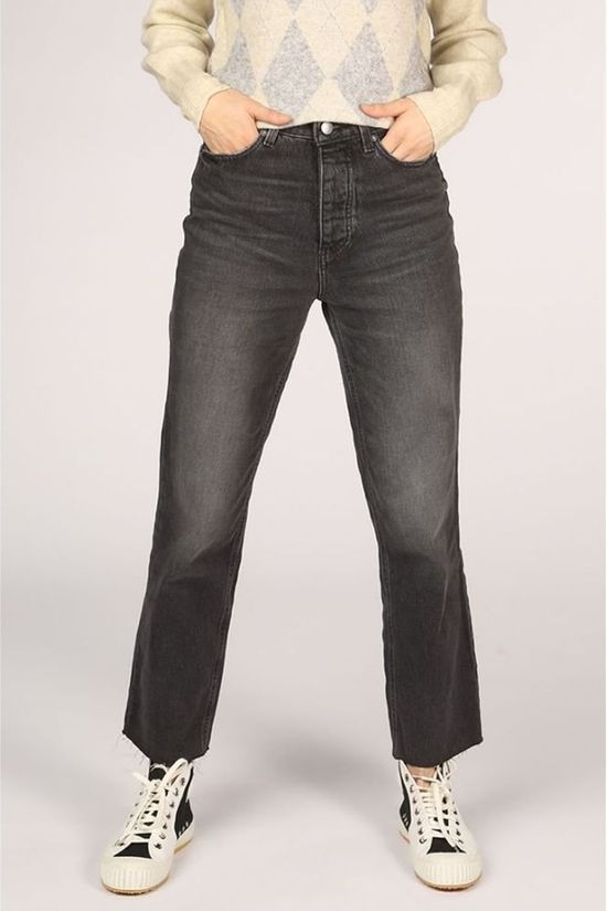 Only Jeans roxy Hw Straight Blackdnm Dark Grey (Jeans)