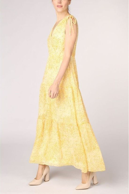 Vila Dress kally Iberis S/L Maxi/Des Mid Yellow/Assorted / Mixed