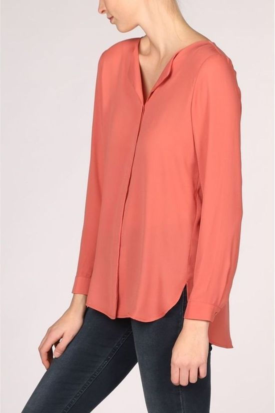 Vila Blouse 14044253 Middenrood