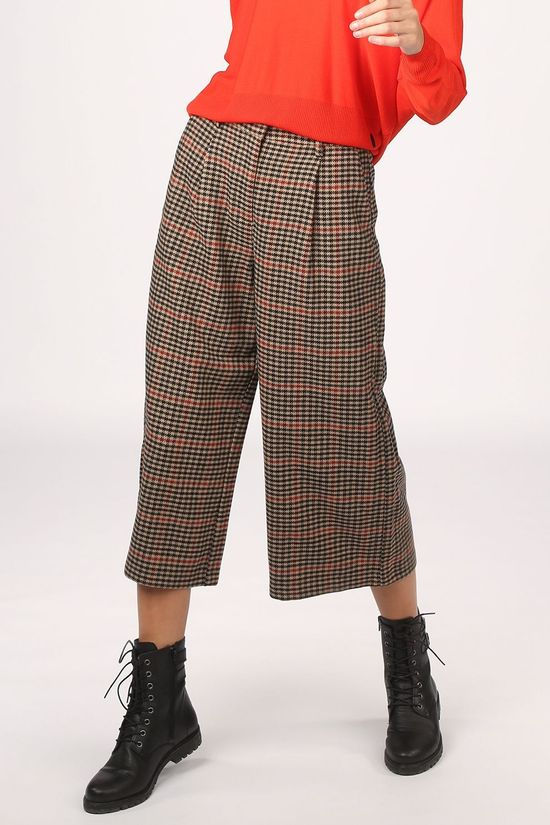 Object Trousers hollis Mw Sand Brown/Red
