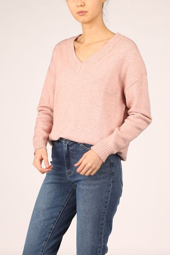 Vila Pullover Viril Oversize light pink