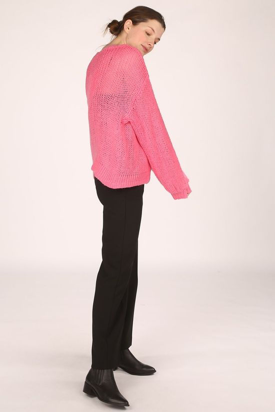 Object Cardigan Vanessa Oversized Knit Middenroze