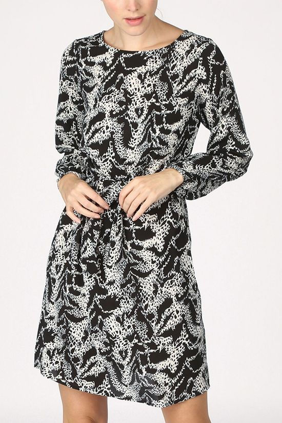 Vila Dress Vidiana Lucy black/white