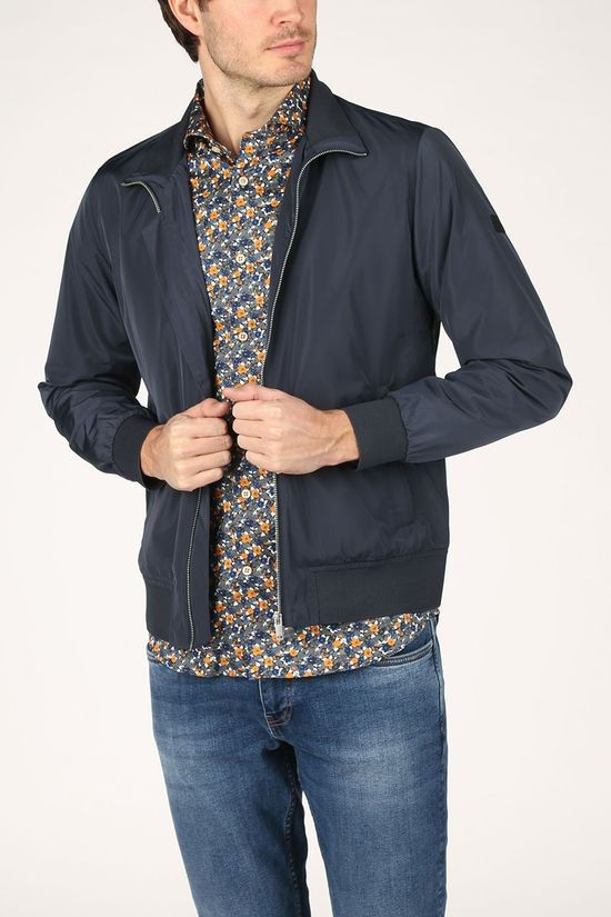 Matinique Coat Mahardron dark blue