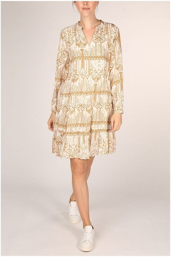 B.Young Dress Byikara white/gold