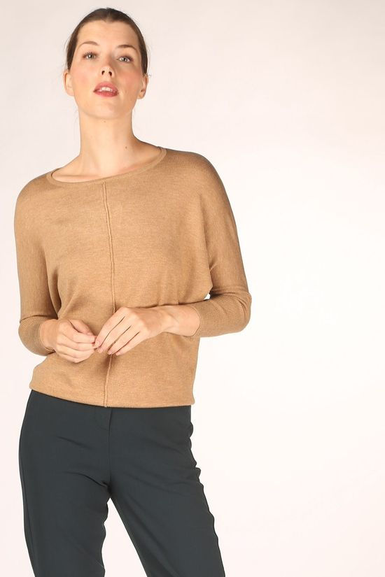 B.Young Pullover pimba Bat Sand Brown