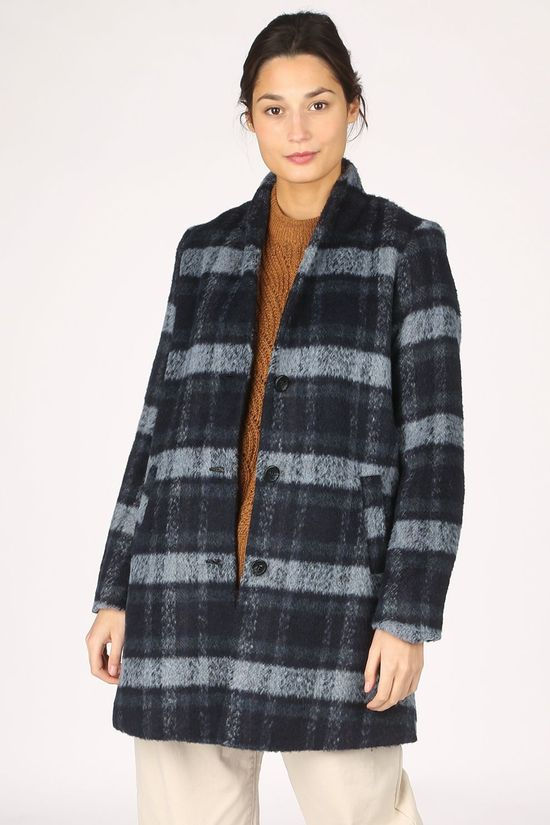 B.Young Coat Bycitta Light Grey Marle/Black