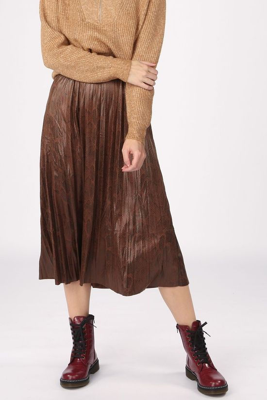 B.Young Skirt Byemila dark brown/black