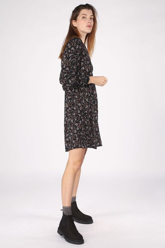 B.Young Dress Byflaminia Black/Camel Brown
