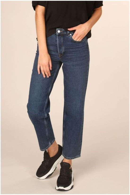 Selected Jeans kate High Waist Straight Inky Blue Blue (Jeans)