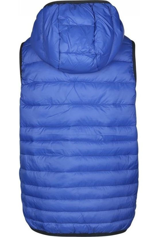 Jack & Jones Bodywarmer Jjebomb Body Warmer Hood Junior Bleu Roi