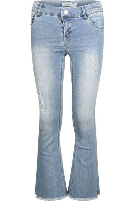 Name It Jeans Nkfpolly Boot Cut Denim / Jeans/Lichtblauw (Jeans)