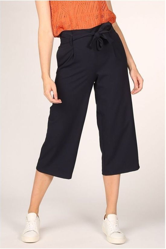 Only Trousers Onlnicole Elastic Paperback Navy Blue