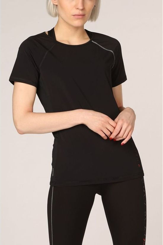 Only Play T-Shirt nigella Loose Burnout Ss black