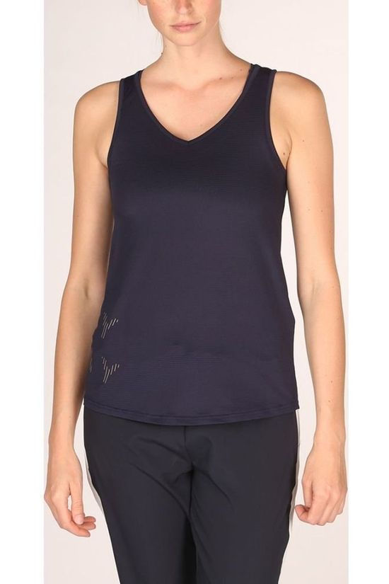 Only Play Top Miley V-Neck Sl Training Marineblauw